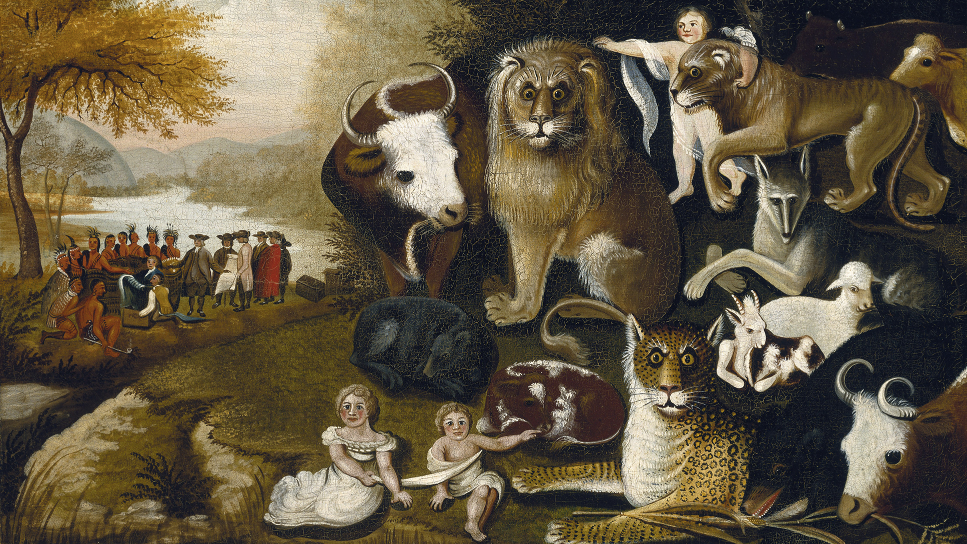 A Peaceable Kingdom (1833–34), Edward Hicks