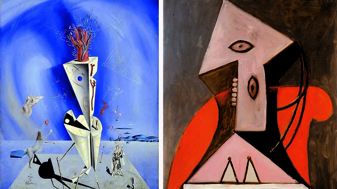 Picasso/Dalí exhibition