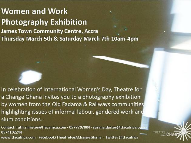 Women and Work photography exhibition | 5-7 Mar