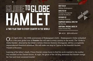 Globe to Globe Hamlet | 13 Mar