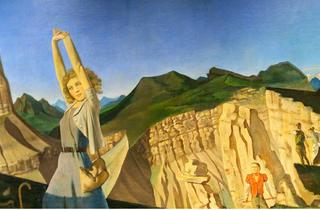 The Mountain (1936–37), Balthus