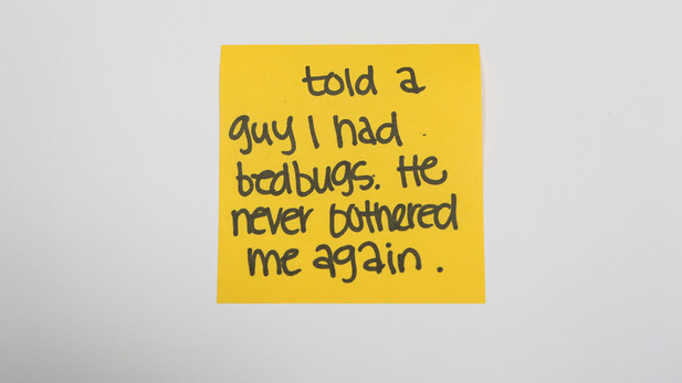 Sticky-note confessions: New Yorkers share the worst excuse they've used to flake