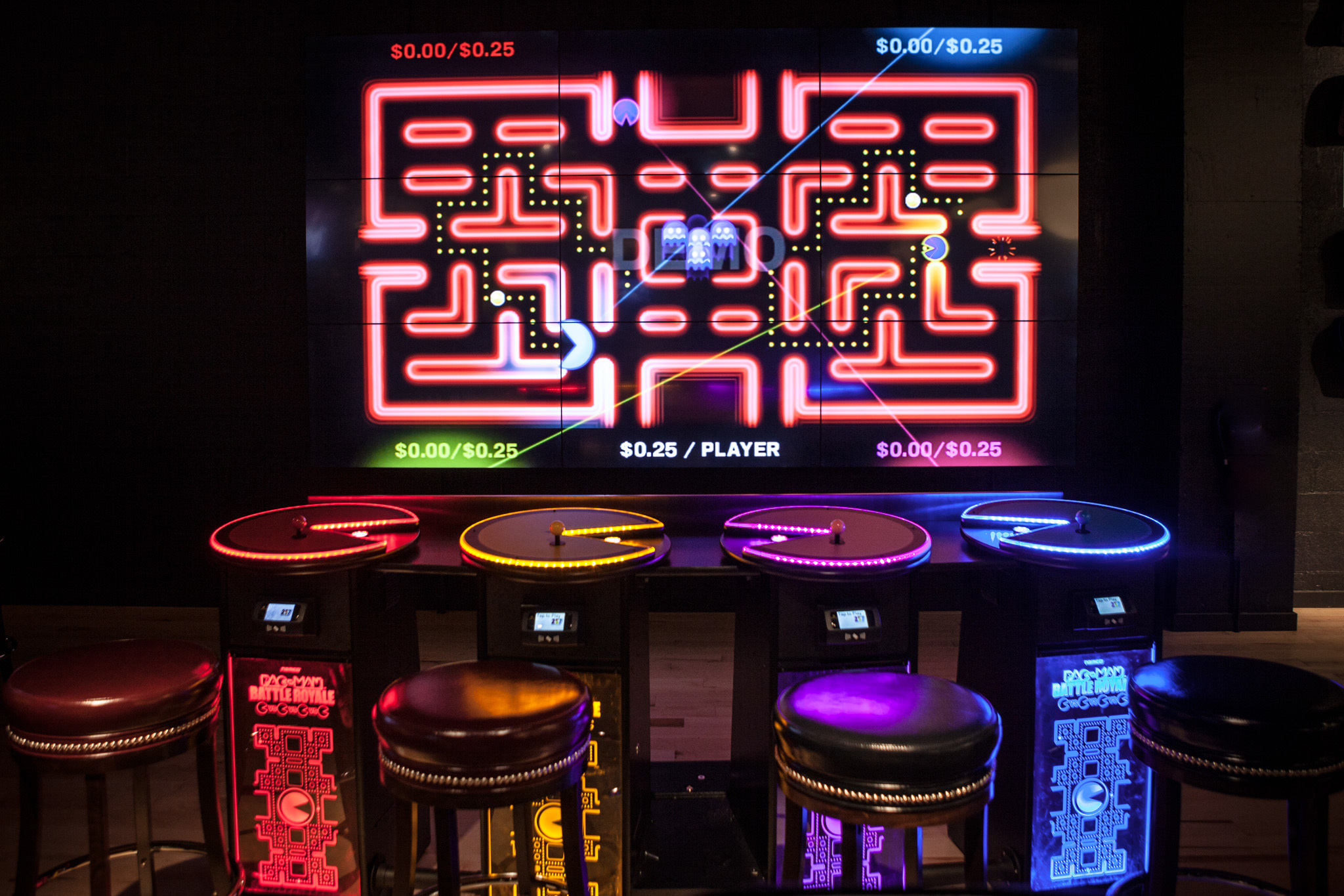 "Play Pac-Man and eat ""power pellets"" at Level 257 in Schaumburg"