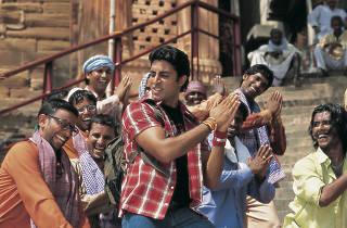 A classic Hindi movie dance scene