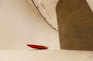 (Roman Signer: 'Slow Movement' at the Barbican. Photo: Tristan Fewings/Getty Images)