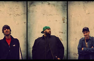 Photo of West Coast hip hop trio Ugly Duckling