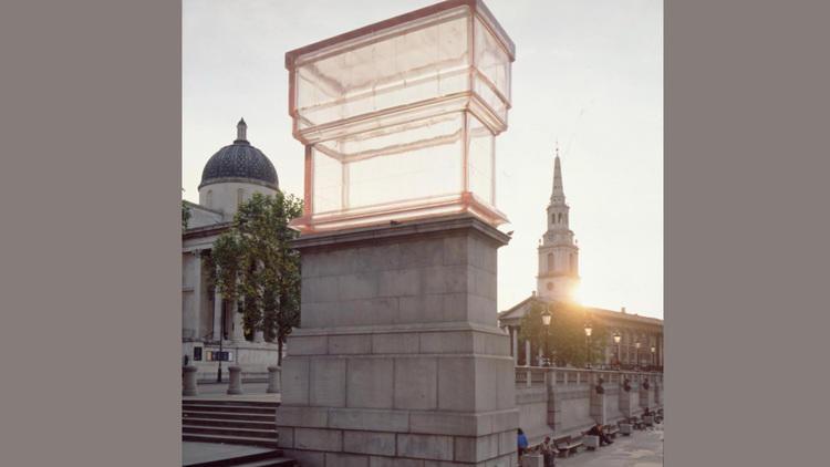 Rachel Whiteread – Monument (2001)