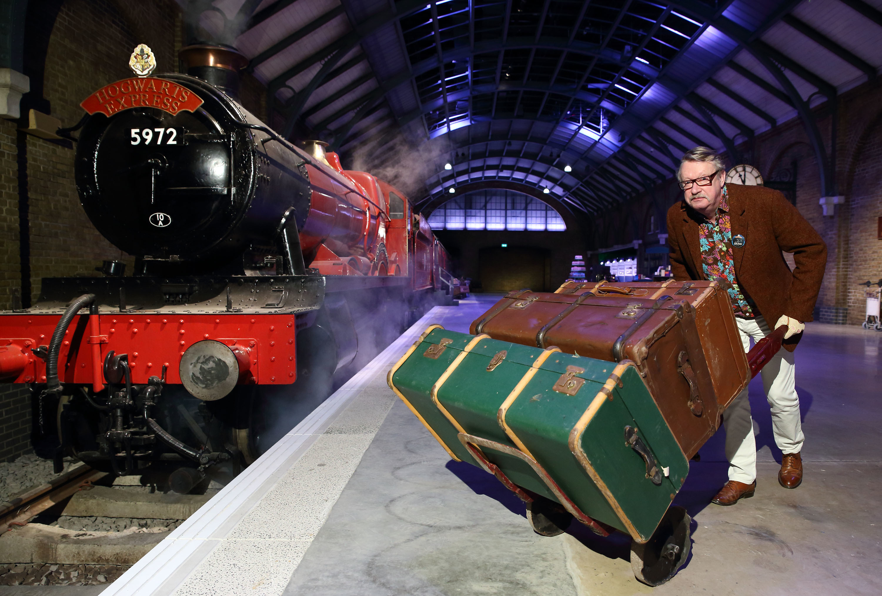 The Making of Harry Potter offers a sneak peek of its new permanent featuring the original Hogwarts Express and recreation of Platform 9 3⁄4