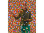 Kehinde Wiley, Anthony of Padua, 2013. Oil