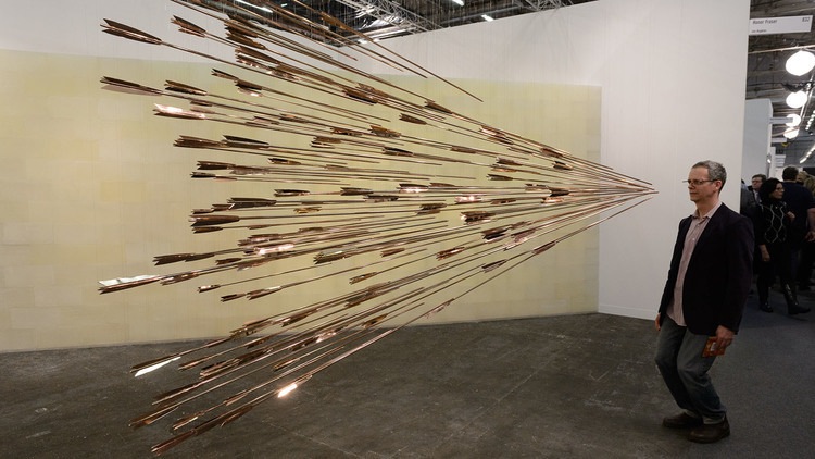 Take a tour around the Armory Show