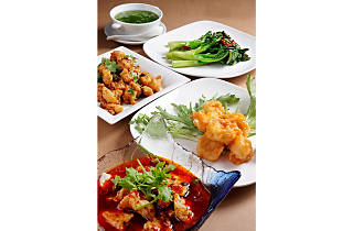 78 dishes for RM78 nett at Si Chuan Duo Hua