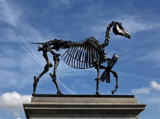 (Hans Haacke: Gift Horse (2015))