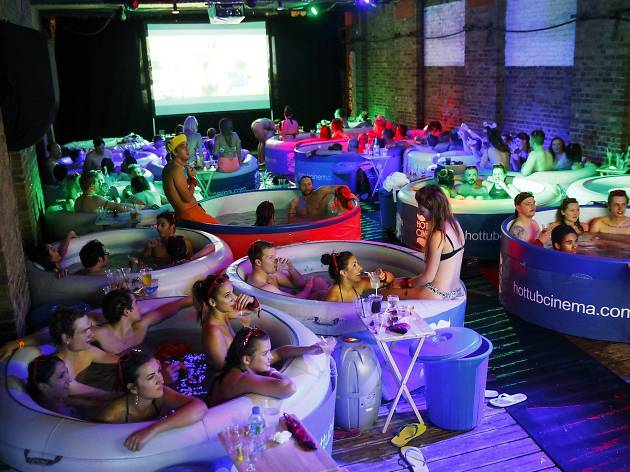 Image result for Films in the hot tub