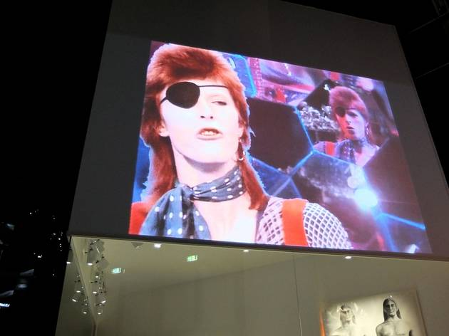(Vue de l'exposition 'David Bowie Is' / Photo : © TB / Time Out)