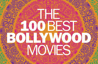 The logo for Time Out's list of the 100 best Bollywood movies