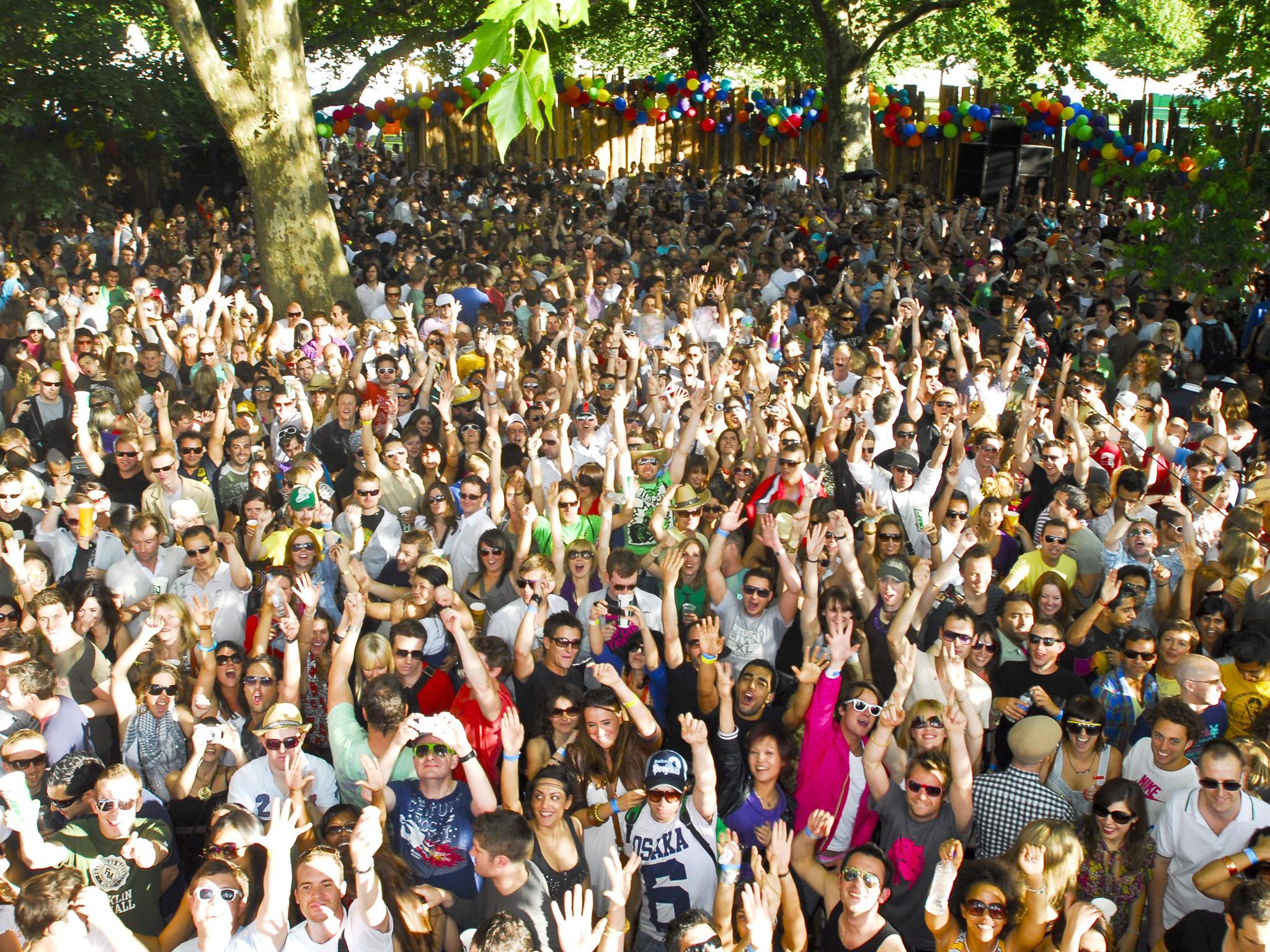 Win music festival tickets