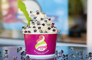 Frozen yogurt at Menchies