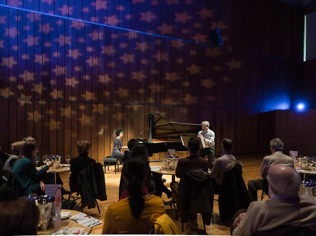 Maridaje de música jazz y vino en L'Auditori