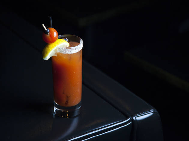 Bloody Mary at the Normandie Club