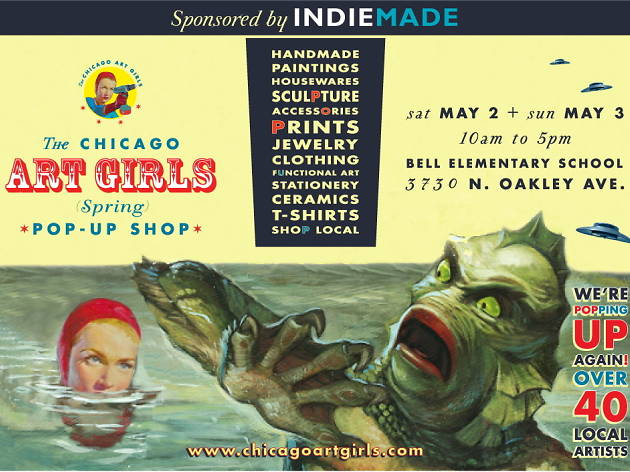 Chicago Art Girls Spring Pop-Up Shop
