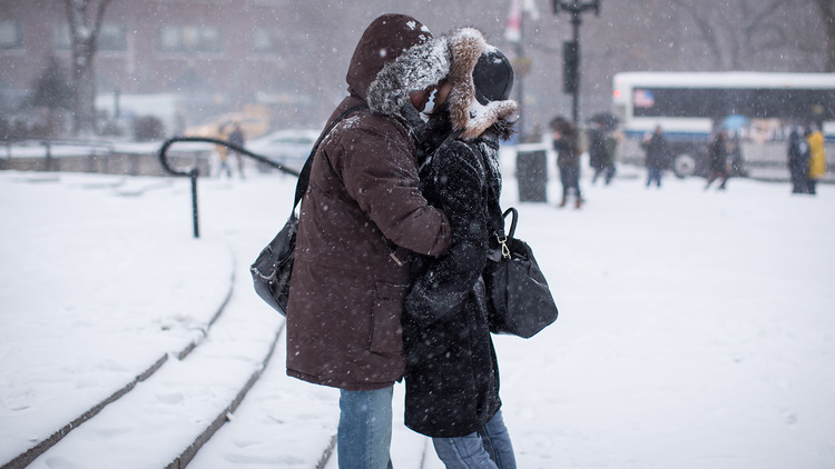 Beautiful photos of this winter in NYC