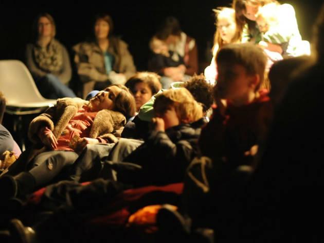 Photo of children enjoying the Family Film Screening at Arnolfini