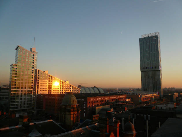 Great Northern Warehouse and Beetham Tower