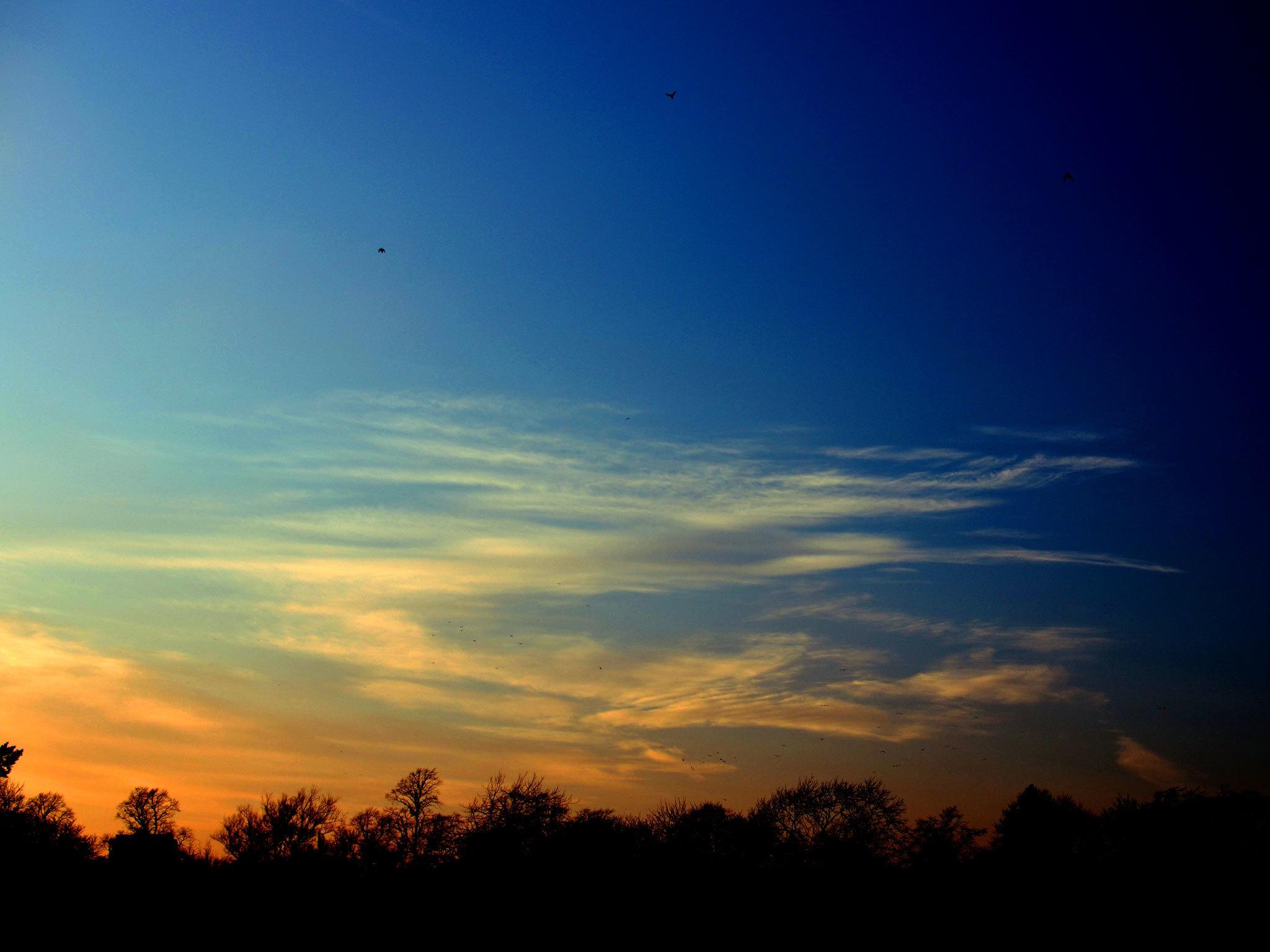 Sunset in Birmingham