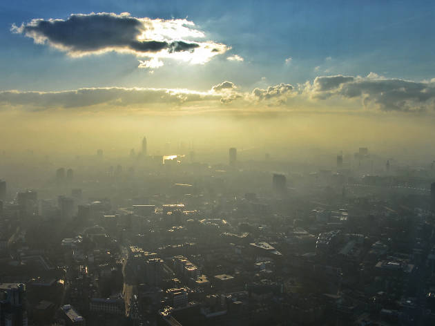 London exceeds its annual air pollution limit... by January 5