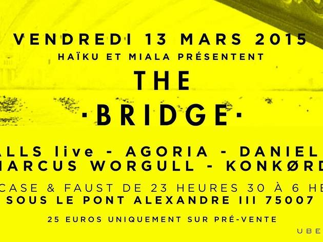 The Bridge :  Ten Walls (Audio + Vidéo Live) + Agoria + Daniel Bortz + Marcus Worgull + Konkørd