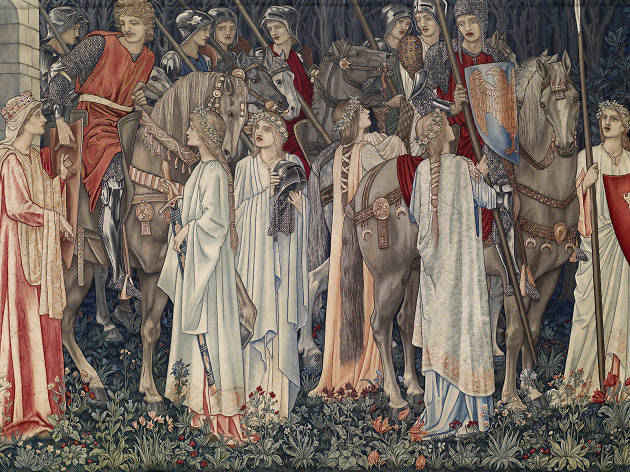 Quest for the Holy Grail Tapestries, 1895 - 1896
