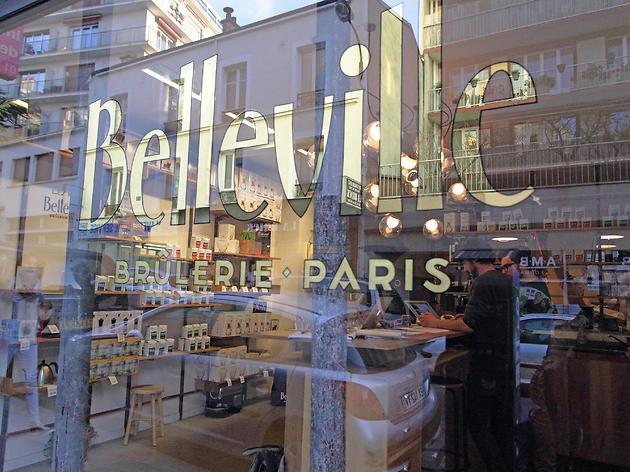 Brûlerie de Belleville café Paris