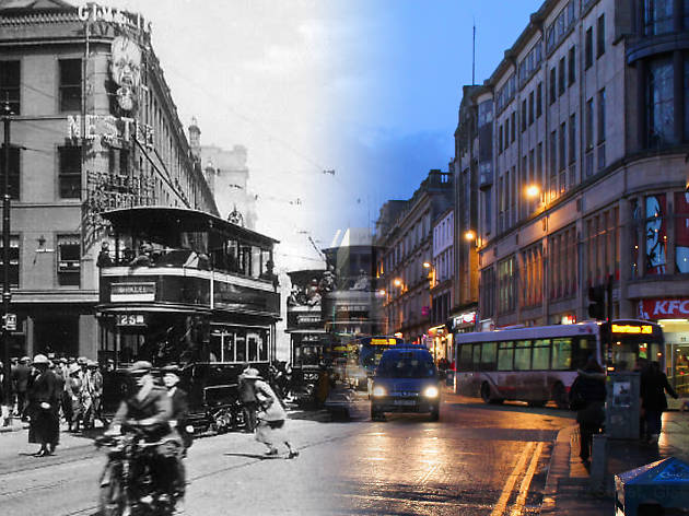 On This Spot: photos of Glasgow past and present