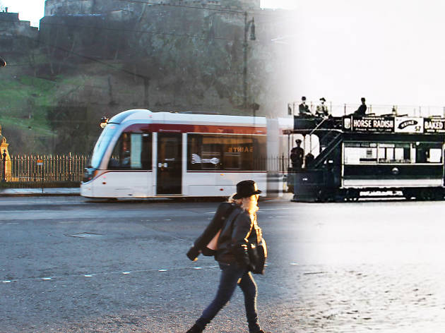 Check out Andrew Farris's photos of Edinburgh past and present