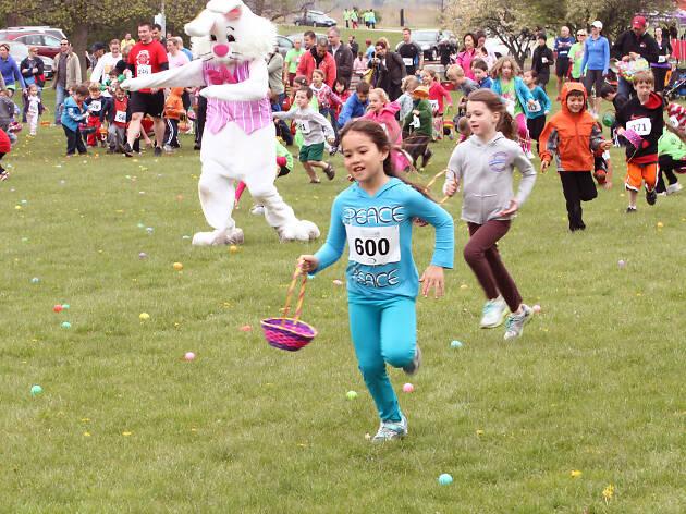 Bunny Rock 5K and Egg Hunt in Grant Park