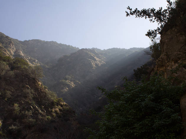 Eaton Canyon Falls Trail.