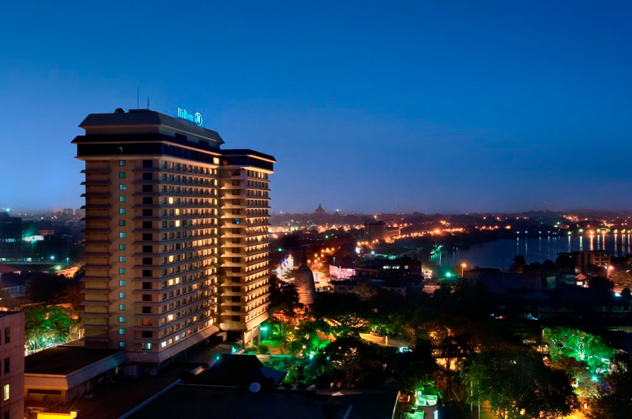 Hilton Colombo is a hotel in Colombo