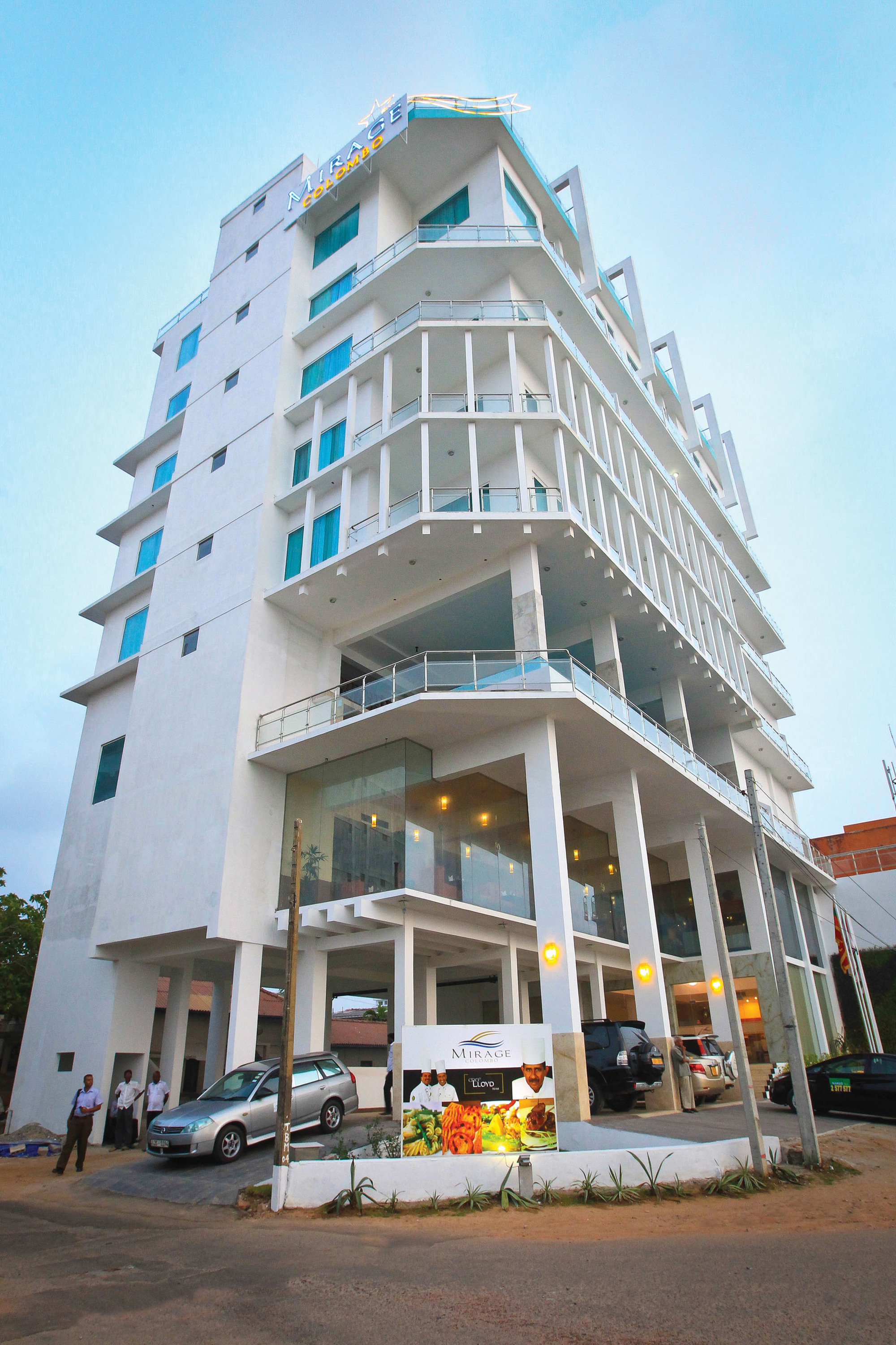 Mirage Colombo is a hotel in Colombo