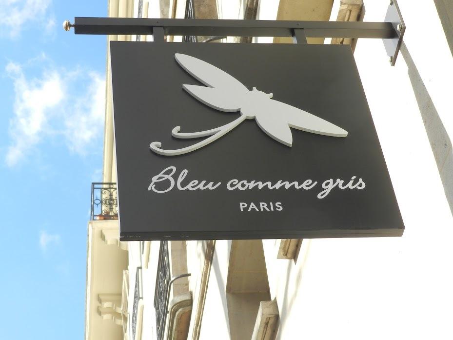 Shopping • Bleu comme gris