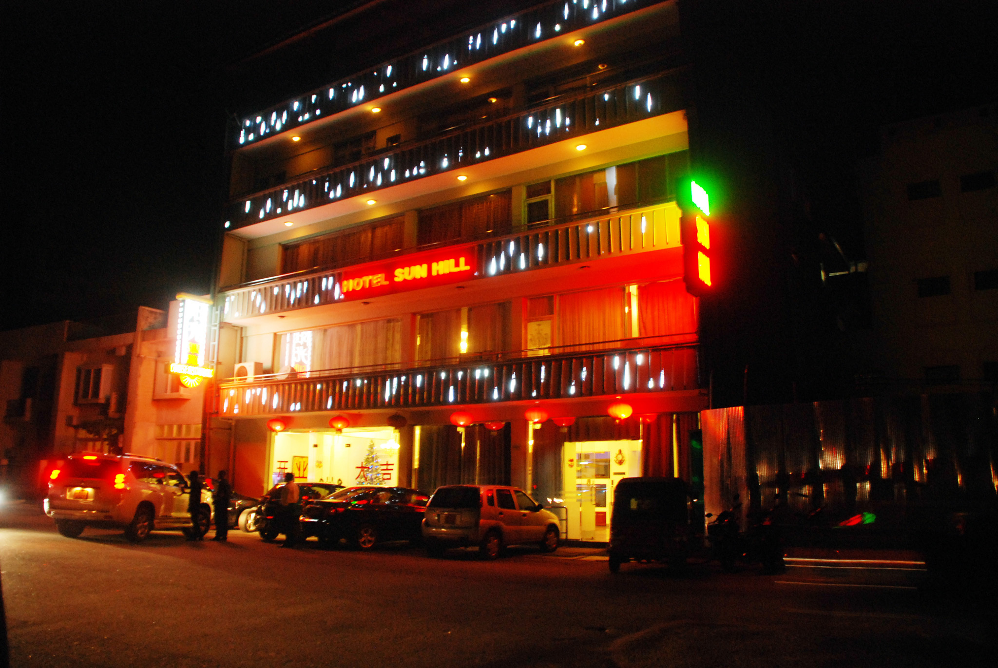 Sunhill Hotel is a hotel in Colombo