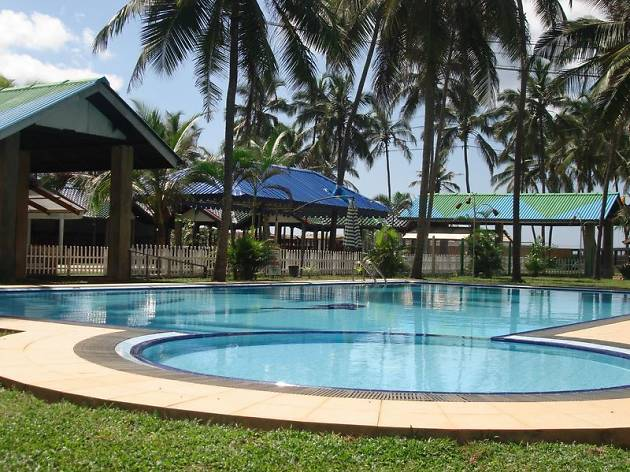 Carolina Beach Hotel is a hotel in Chilaw