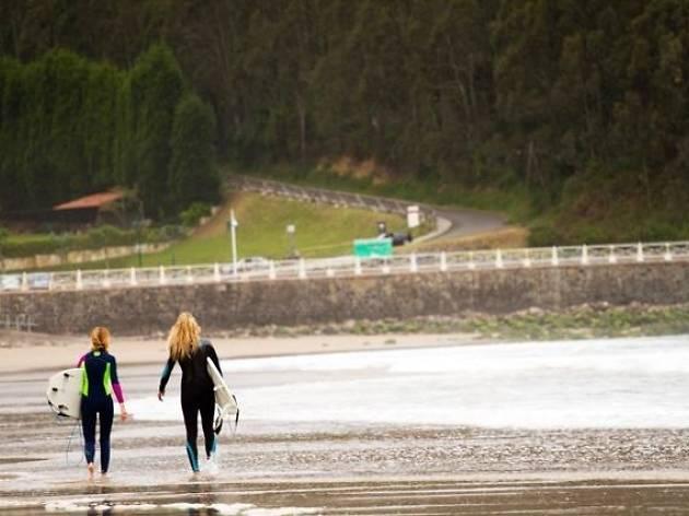Surf en Ribadsella