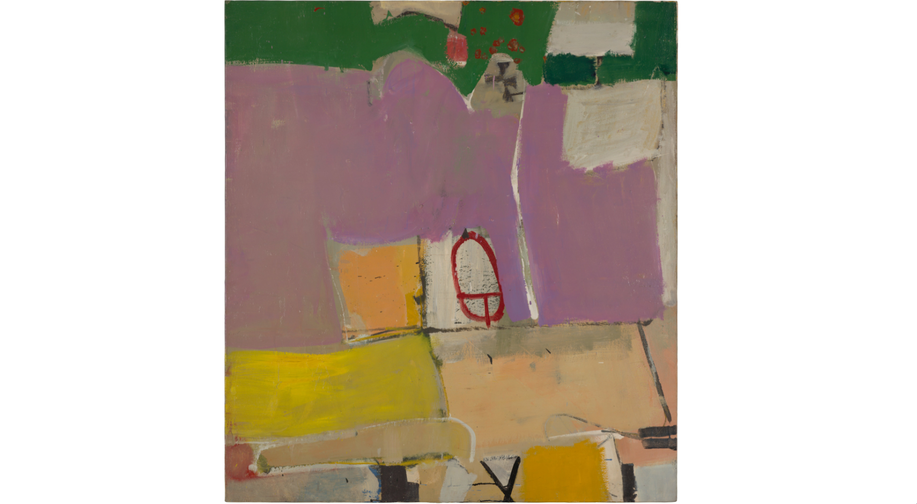 (Richard Diebenkorn: 'Albuquerque #4', 1951. © The Richard Diebenkorn Foundation )