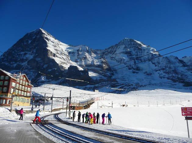 Kleine Scheidegg, Jungfrau ski resort, Time Out Switzerland