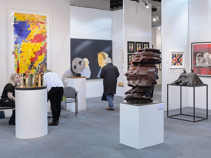 The Armory Show blows up with more than 160 exhibitors