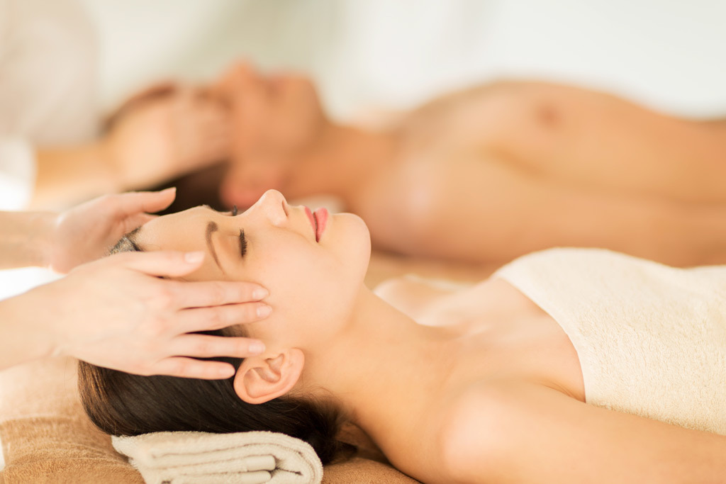 The best couples-massage rooms