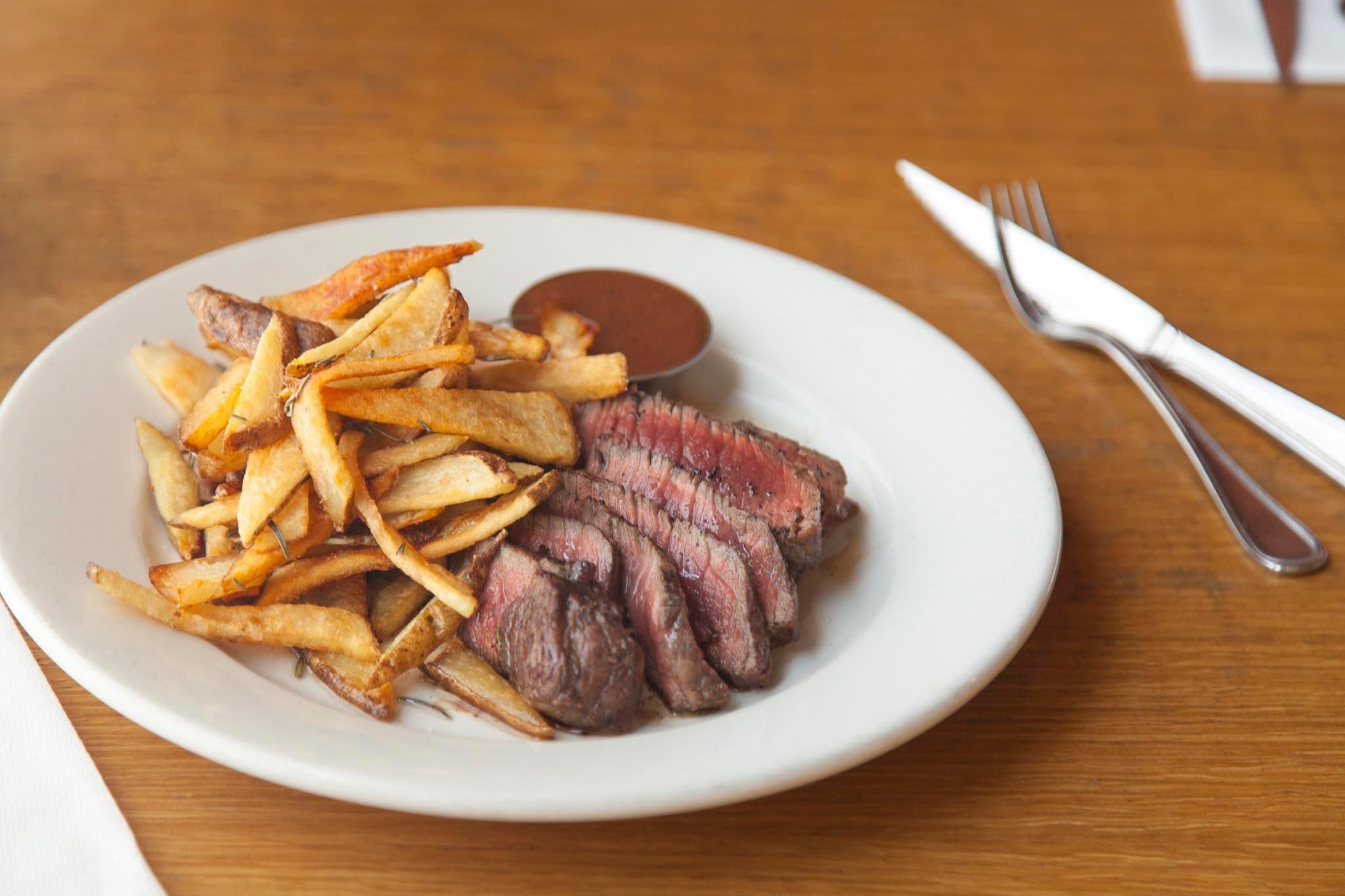 Steak Frites at Salt's Cure