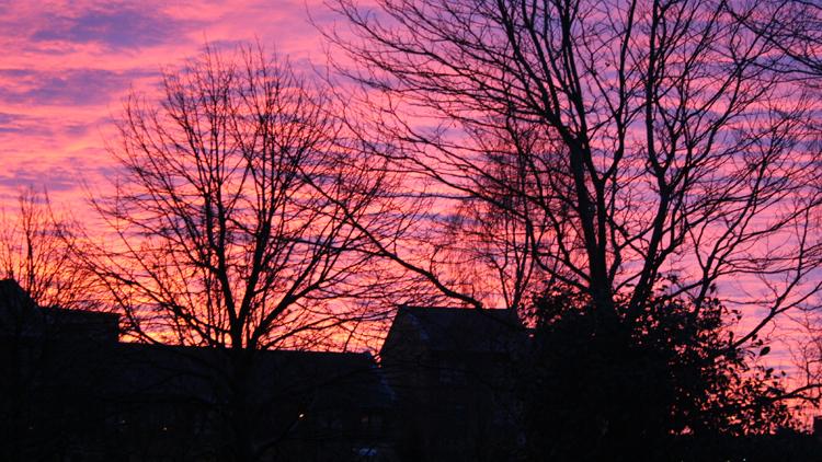 10 glasgow suburban sunset