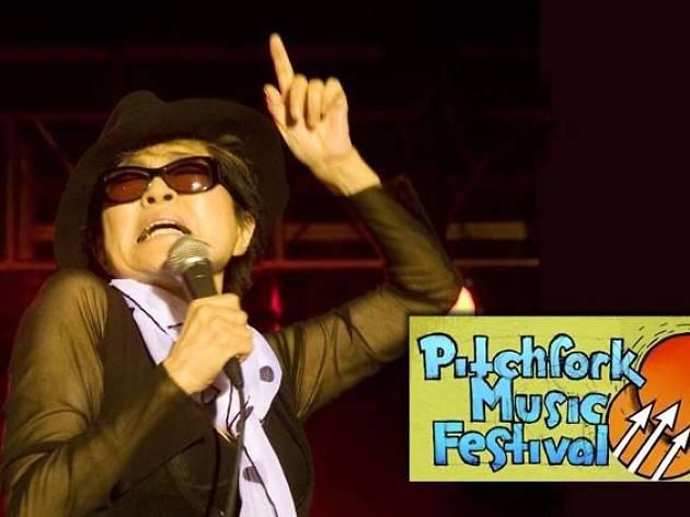 Yoko Ono at Pitchfork 2007