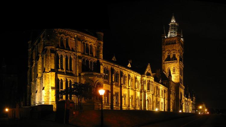 19 glasgow university night